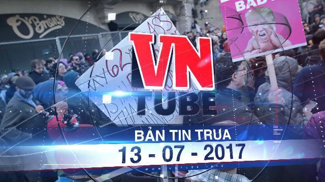Bản tin VnTube trưa 13-07-2017: 12,000 người Việt ở Mỹ sẽ bị trục xuất