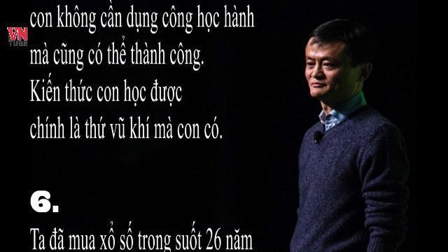 9 bài học Jack Ma dạy con