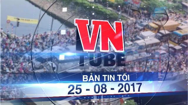 Bản tin VnTube tối 25-08-2017: Hà Nội áp dụng cấm xe máy theo ngày chẵn lẻ