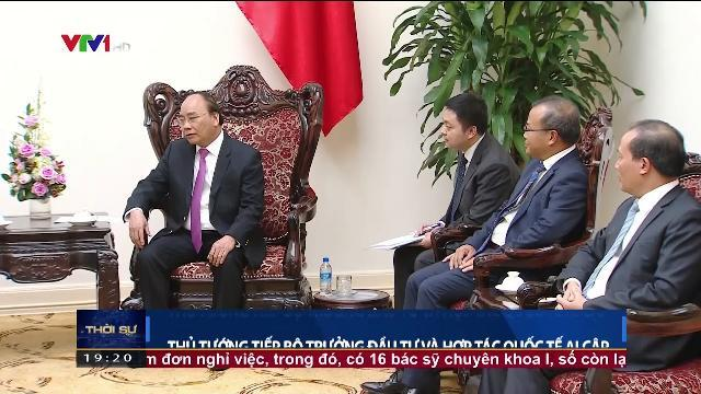 Thủ tướng Nguyễn Xuân Phúc tiếp Bộ trưởng đầu tư và hợp tác Quốc tế Ai Cập