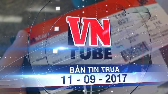 Bản tin VnTube trưa 11-09-2017: Các hãng hàng không đồng loạt tăng giá vé máy bay từ ngày 1- 10