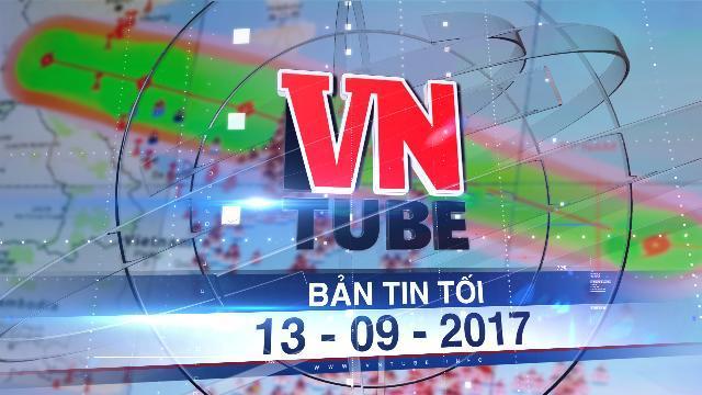 Bản tin VnTube tối 13-09-2017: Bão số 10 vào Thanh Hóa - Quảng Bình, mạnh nhất trong nhiều năm