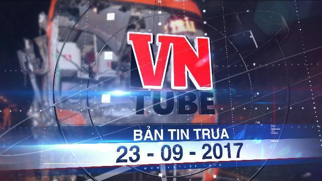 Bản tin VnTube trưa 23-09-2017: Tai nạn liên hoàn 1 người chết nhiều người bị thương tại Gia Lai