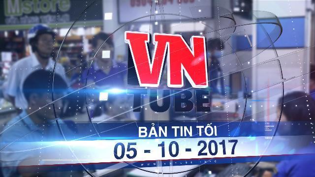 Bản tin VnTube tối 05-10-2017: Ngày 15-10, ngành đường sắt bắt đầu bán vé tàu Tết