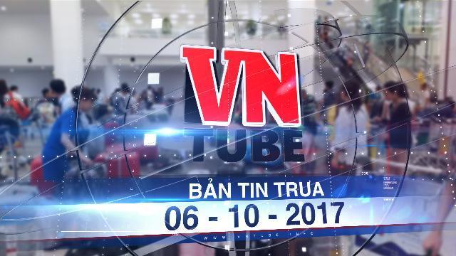 Bản tin VnTube trưa 06-10-2017: Nhân viên hàng không tuồn thông tin cá nhân của khách cho taxi
