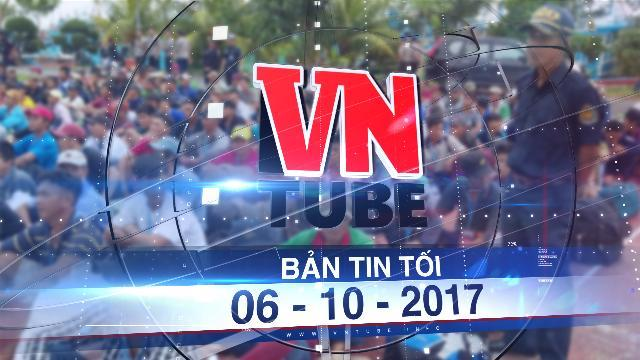 Bản tin VnTube tối 06-10-2017: 239 ngư dân Việt Nam bị Indonesia bắt giữ được về nhà