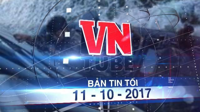 Bản tin VnTube tối 11-10-2017: 10 lính hải quân Philippines dính líu đến vụ nổ súng làm thiệt mạng 2 ngư dân Việt