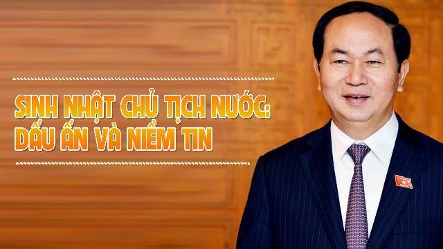 Mừng sinh nhật Chủ tịch nước