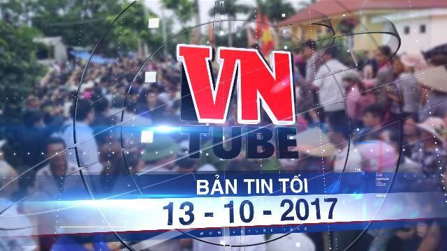 Bản tin VnTube trưa 14-10-2017: Vụ Đồng Tâm: Công an Hà Nội kêu gọi đầu thú