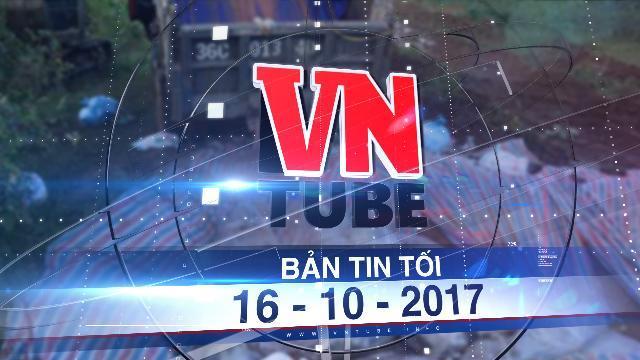 Bản tin VnTube tối 16-10-2017: Thanh Hóa tiêu huỷ xong gần 6.000 con lợn chết ngập trong lũ