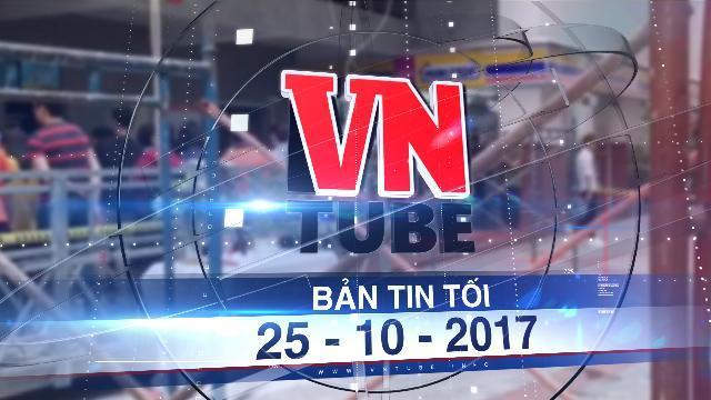 Bản tin VnTube tối 25-10-2017: Trường Đại học Hutech chịu trách nhiệm hoàn toàn về nam sinh tử nạn