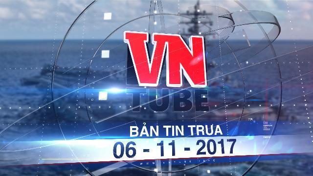 Bản tin VnTube trưa 06-11-2017: Ba tàu sân bay Mỹ tới châu Á bảo vệ Tổng thống Trump