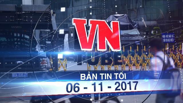 Bản tin VnTube tối 06-11-2017: Triển khai xe bọc thép bảo vệ sân bay Tân Sơn Nhất dịp APEC