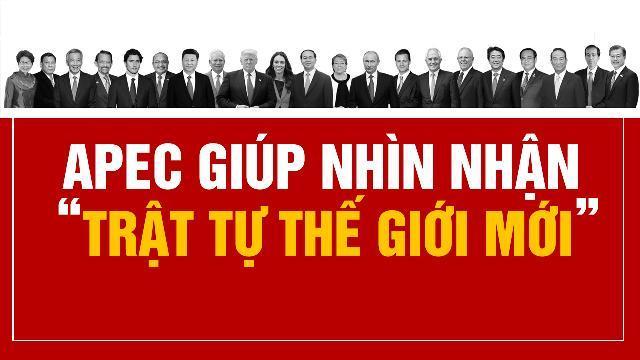 """APEC giúp nhìn nhận """"trật tự thế giới mới"""""""
