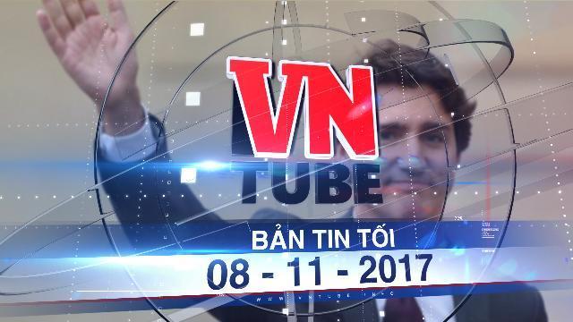 Bản tin VnTube tối 08-11-2017: Thủ tướng Canada bắt đầu chuyến thăm chính thức Việt Nam
