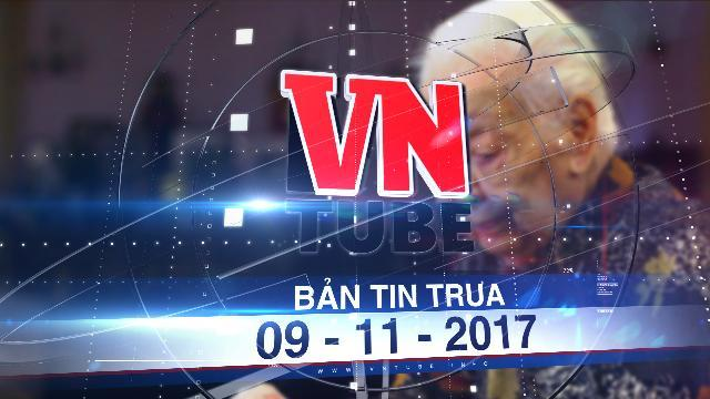 Bản tin VnTube trưa 09-11-2017: Tổ chức lễ tang người hiến 5.000 lượng vàng theo nghi thức cấp cao