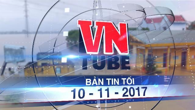 Bản tin VnTube tối 10-11-2017: Mỹ, Hàn viện trợ 1 triệu USD cho Việt Nam khắc phục hậu quả bão lũ