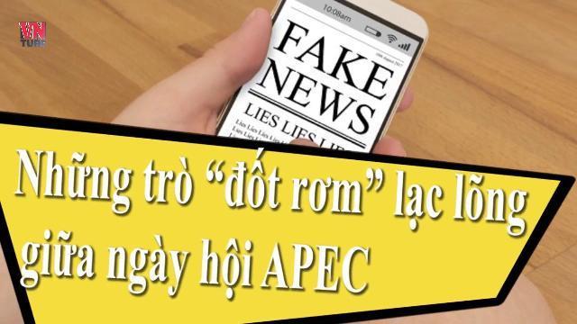 """Những trò """"đốt rơm"""" lạc lõng giữa ngày hội APEC"""
