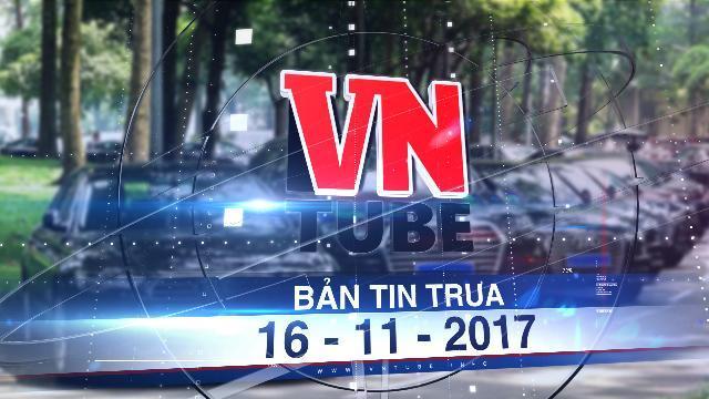 Bản tin VnTube trưa 16-11-2017: Bán công khai gần 400 xe Audi phục vụ APEC