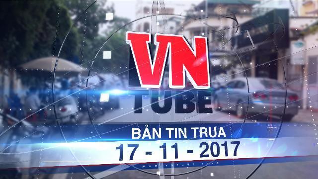 Bản tin VnTube trưa 17-11-2017: Hà Nội sẽ tăng phí thuê vỉa hè gấp 3 lần