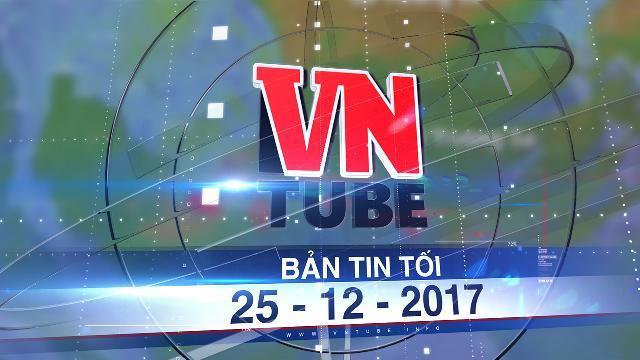 Bản tin VnTube tối 25-12-2017: Bão Tembin đang đi lệch xuống phía Nam