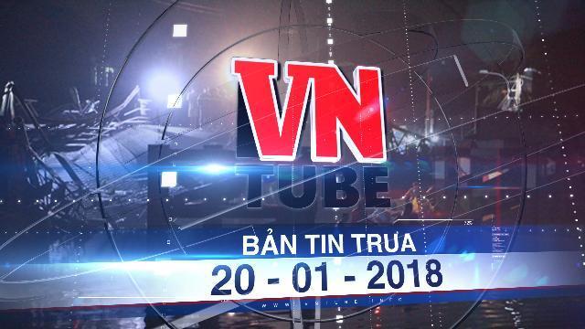 Bản tin VnTube ngày 20-01-2018: Sập cầu Long Kiển, xe ben và nhiều xe máy rớt xuống sông