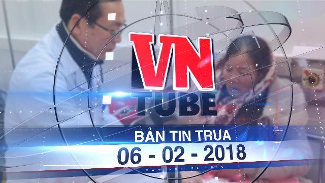 Bản tin VnTube trưa 06-02-2018: 7 học sinh lớp 1 nhập viện vì bình gas mini phát nổ