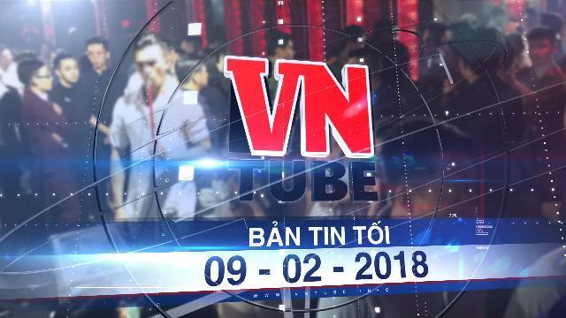 Bản tin VnTube tối 09-02-2018: Phát hiện hàng chục thanh niên dùng ma túy trong quán bar