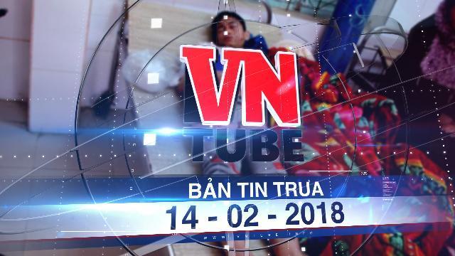 Bản tin VnTube trưa 14-02-2018: Nổ điện thoại khi đang sạc, nam sinh lớp 8 bị thương nặng