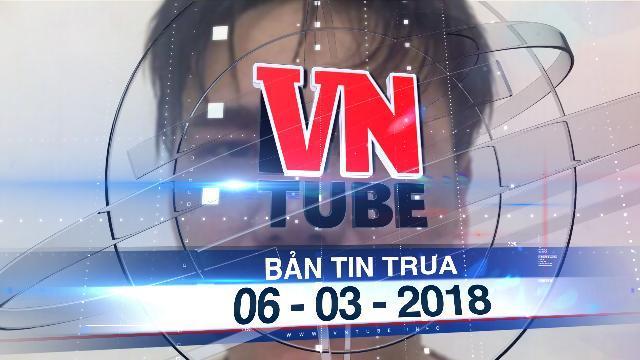 Bản tin VnTube trưa 06-03-2018: Tạm giữ hình sự ca sĩ Châu Việt Cường, điều tra vụ nữ sinh tử vong