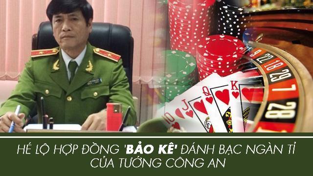 Hé lộ hợp đồng 'bảo kê' đánh bạc ngàn tỉ của tướng công an