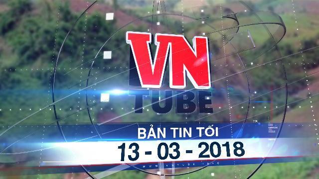Bản tin VnTube tối 13-03-2018: Động đất 3 độ richter lần đầu xảy ra ở biên giới Thanh Hóa