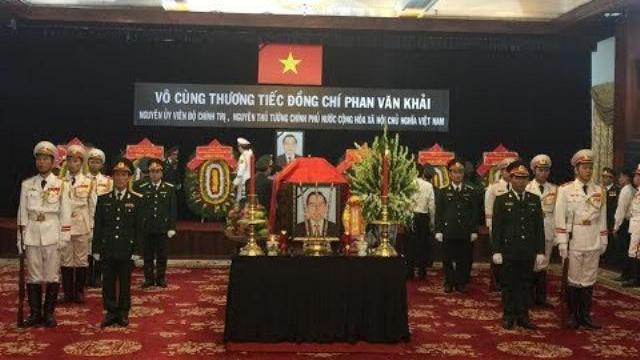 Trực tiếp : Lễ tang nguyên Thủ tướng Phan Văn Khải tại Hội trường Thống Nhất Tp.HCM