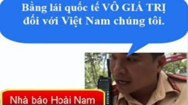 Fullclip tranh cãi giữa CSGT Cát Lái và Việt kiều Đức