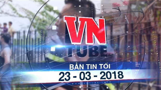 Bản tin VnTube tối 23-03-2018: Chung cư Carina bất ngờ cháy lại, hai chiến sĩ PCCC bị thương