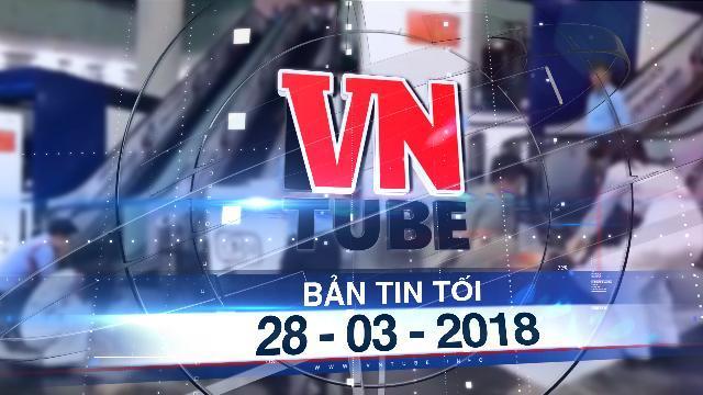 Bản tin VnTube tối 28-03-2018: Nữ sinh rơi lầu tử vong trong tòa nhà Bitexco