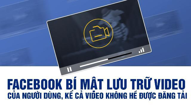 Facebook bí mật lưu trữ video của người dùng, kể cả video không hề được đăng tải