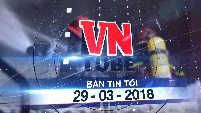 Bản tin VnTube tối 29-03-2018: Nghi vấn chủ chung cư Carina mượn thiết bị PCCC để đối phó