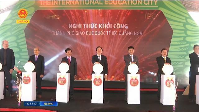 """NHG xây dựng Thành phố giáo dục quốc tế ở Quảng Ngãi: """"Vào mầm non, ra tiến sĩ"""""""