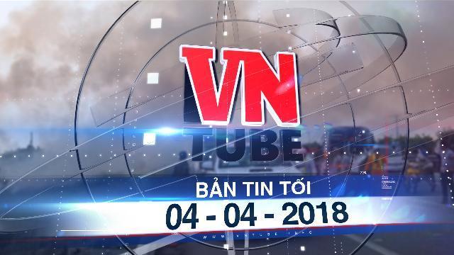 Bản tin VnTube tối 04-04-2018: Hàng loạt ô tô tông nhau trên cao tốc TP.HCM - Long Thành - Dầu Giây