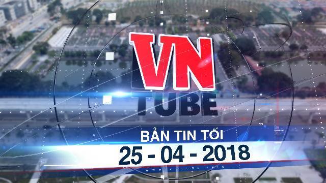 Bản tin VnTube tối 25-04-2018: Sắp đấu thầu dự án metro Nam Thăng Long - Trần Hưng Đạo