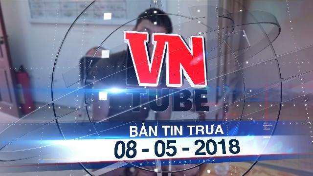 Bản tin VnTube trưa 08-05-2018: Bắt nghi phạm chém 4 người tử vong rồi phóng hỏa đốt nhà