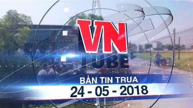 Bản tin VnTube tối 24-05-2018: Khai quật tử thi nữ kế toán đã chết 6 năm để điều tra