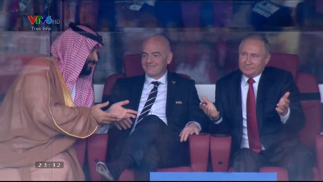Pha ghi bàn thứ 3 của Nga