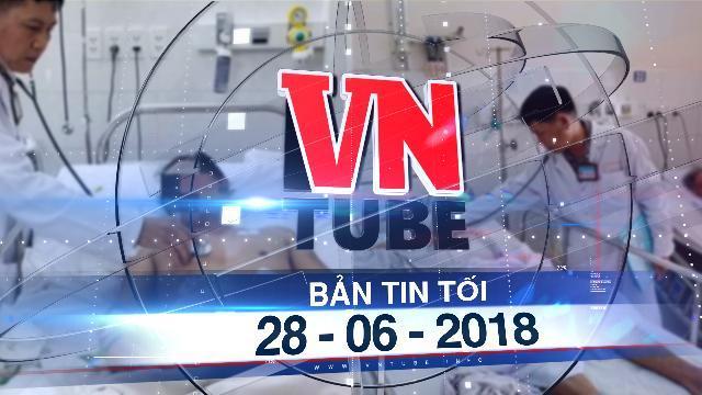 Bản tin VnTube tối 28-06-2018: Thua độ World Cup, 2 người đàn ông uống thuốc diệt chuột