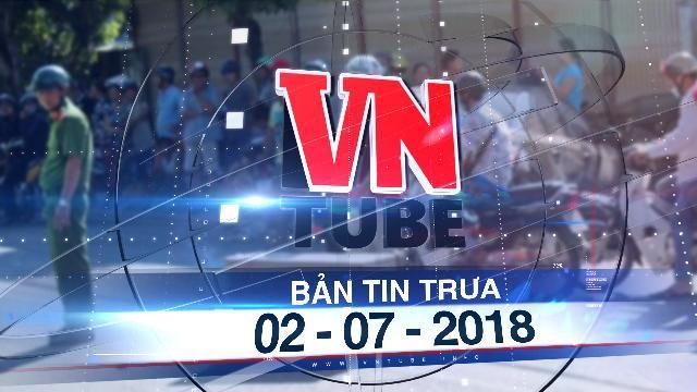 Bản tin VnTube trưa 02-07-2018: Xe hơi lùi va chạm với xe gắn máy, 2 cháu bé tử vong