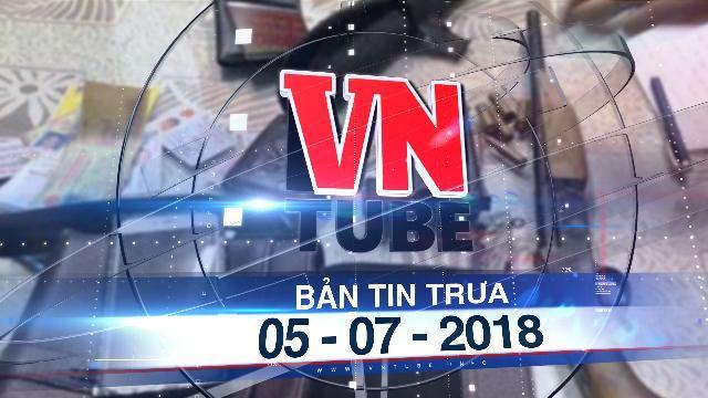 Bản tin VnTube trưa 05-07-2018: Bắt giữ hai thanh niên mang súng đi đòi nợ mùa World Cup