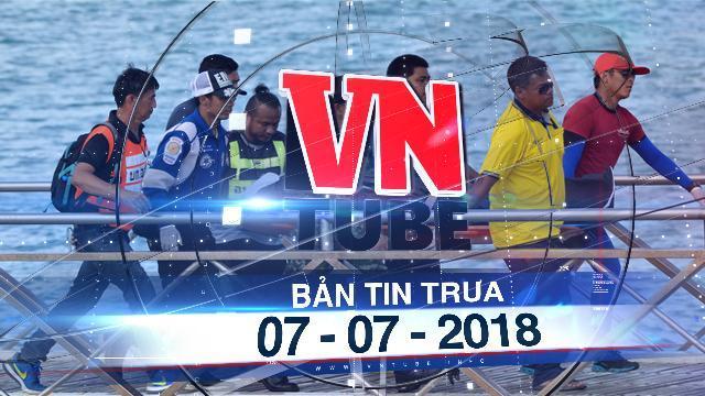 Bản tin VnTube trưa 07-07-2018: Hết cơ hội người sống sót trong vụ lật tàu ở Thái Lan