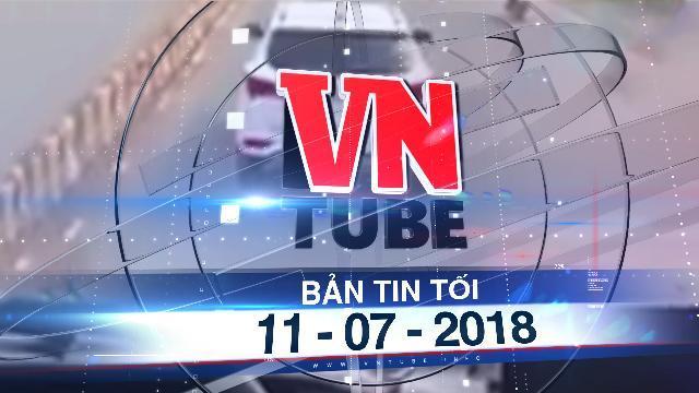 Bản tin VnTube tối 11-07-2018: Truy tìm tài xế cản đường xe cứu hỏa suốt 4 km ở Sài Gòn