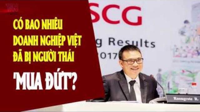 Có bao nhiêu doanh nghiệp Việt đã bị người Thái 'mua đứt'?